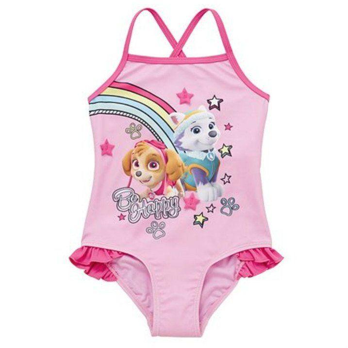 236a8005759d6 Girls Paw Patrol Swimsuit | Puppy | Swimsuits, Paw patrol, Swimwear