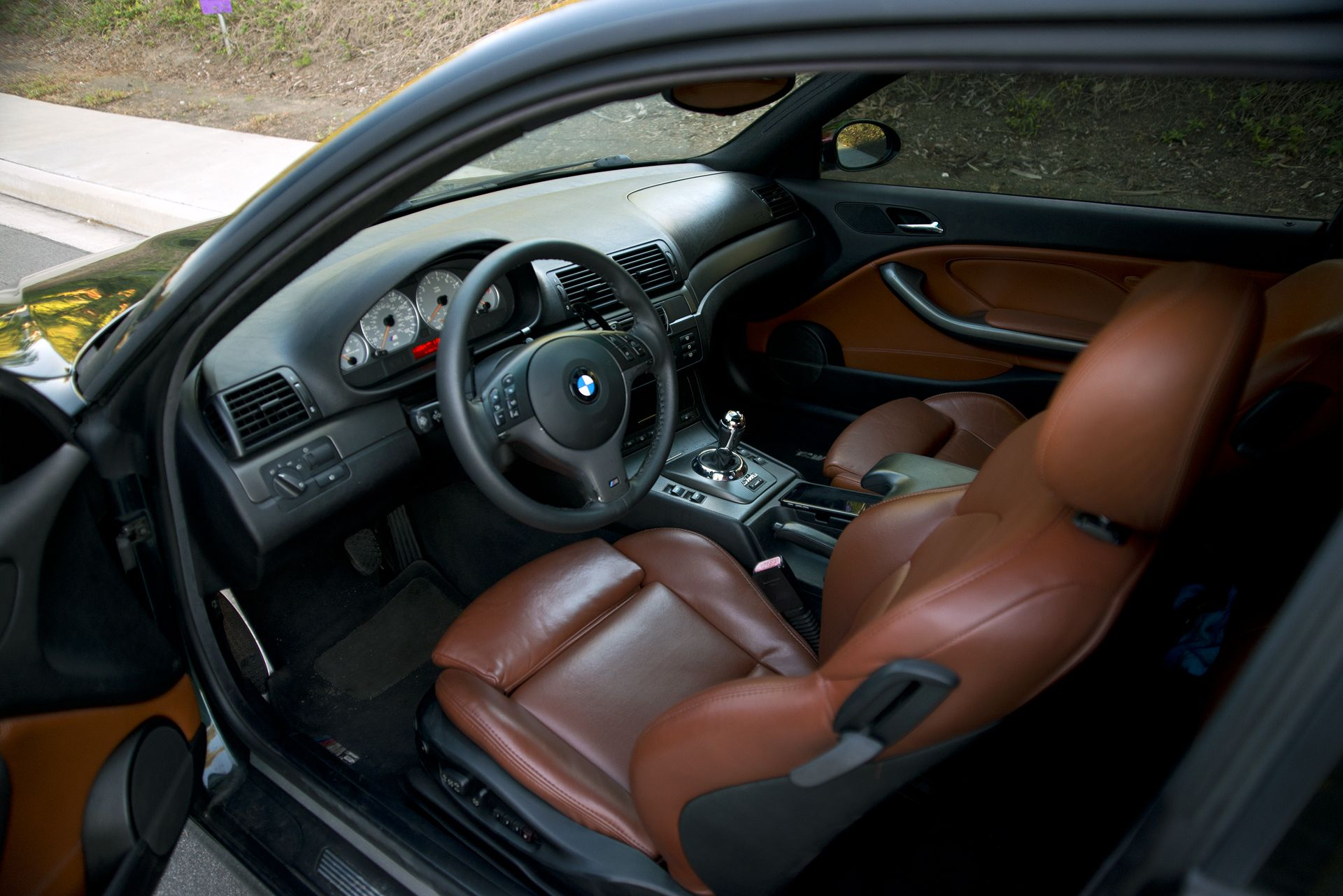 BMW M3 Cinnamon Leather Interior | My for the e46 | Pinterest ...