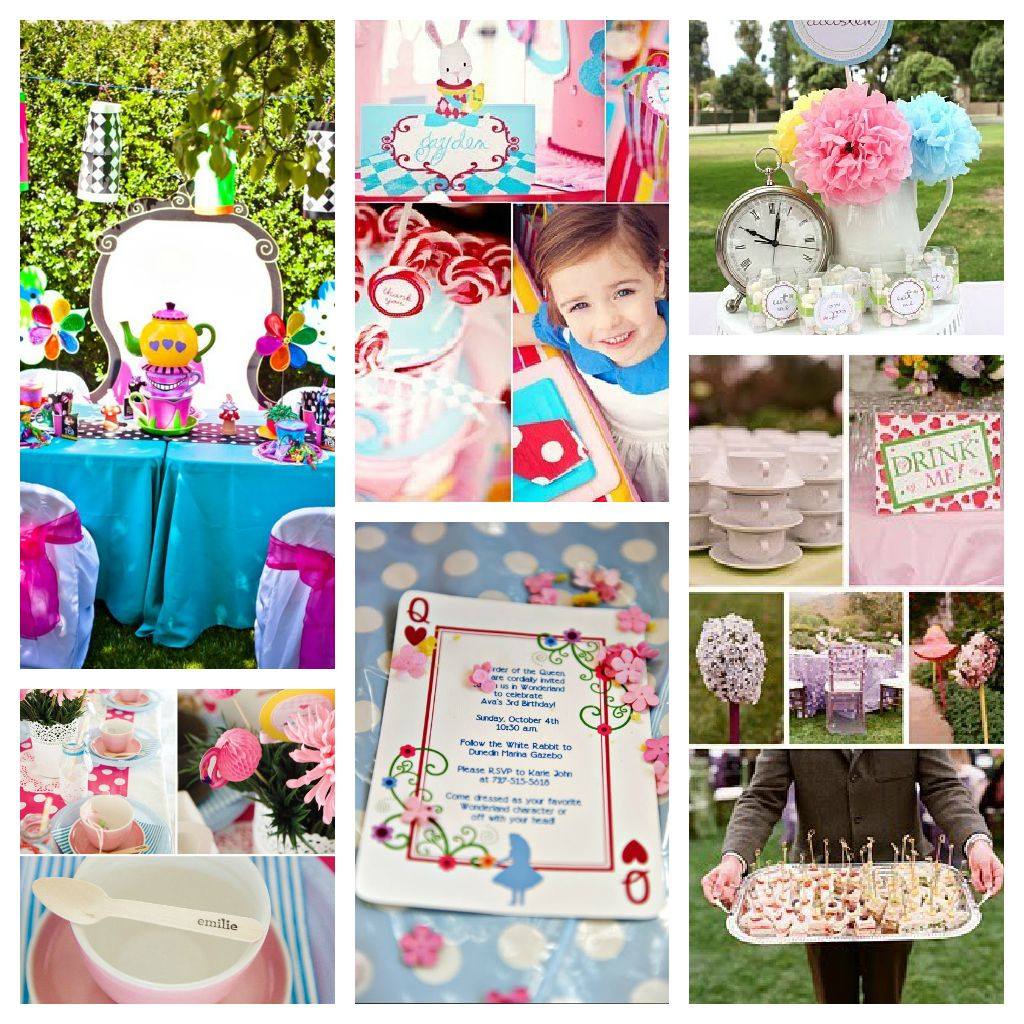 Alice in wonderland party decorations party ideas karas for Alice in wonderland party decoration ideas