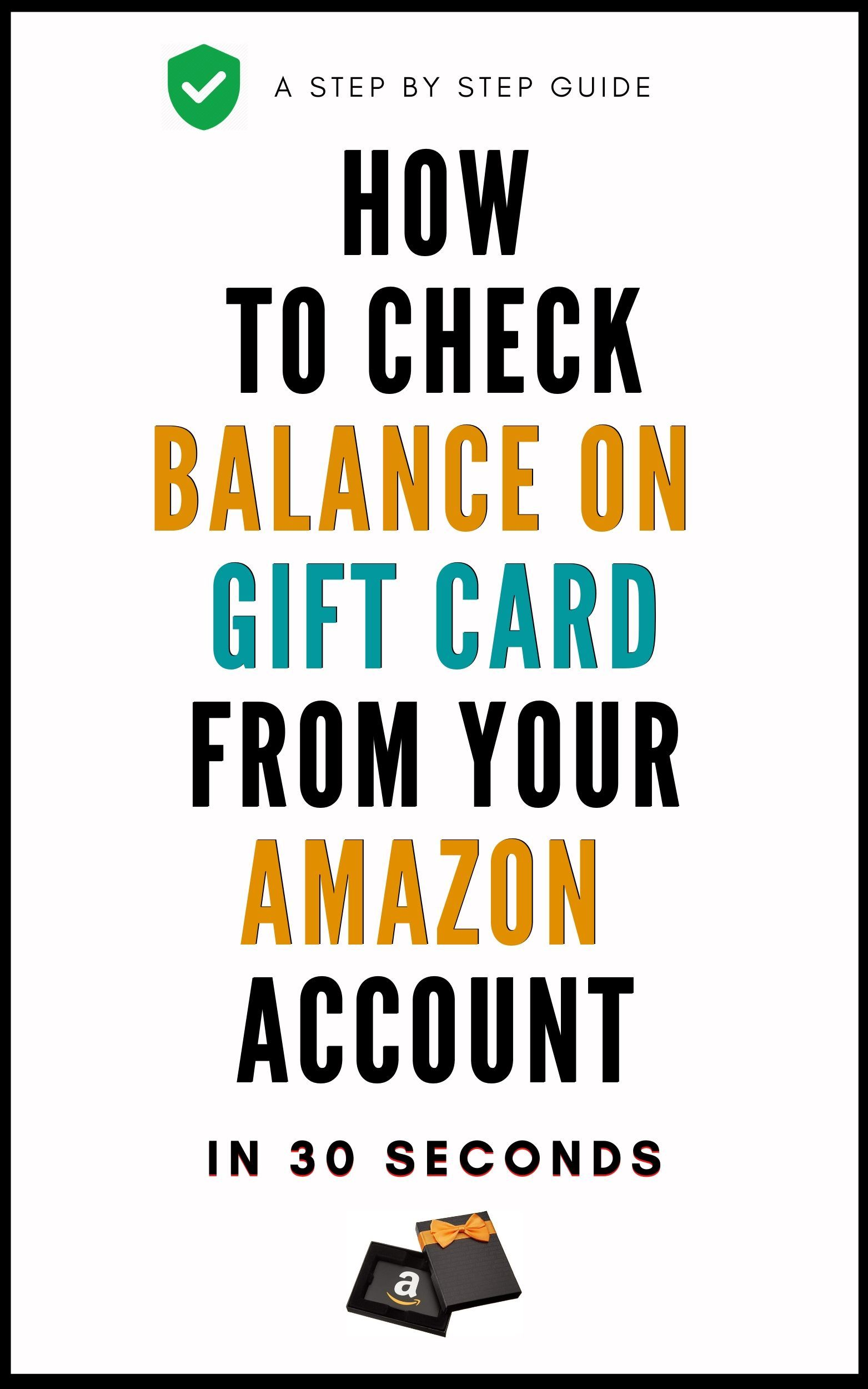 How To Check The Balance On A Gift Card From Your Amazon Account Check And Balance Animal Crossing Qr How To Check Balance