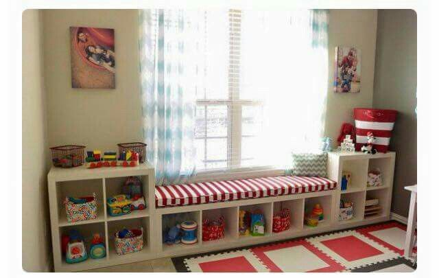 Pin by Aze on Room. | Playroom storage, Girl room, Boy room