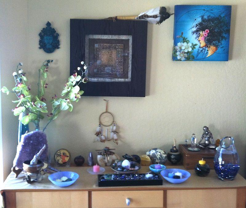 Pin By Ankha La Vey On Altars Meditation Space Altar Meditation