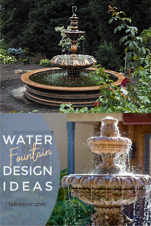 Pin On Water Fountain Ideas
