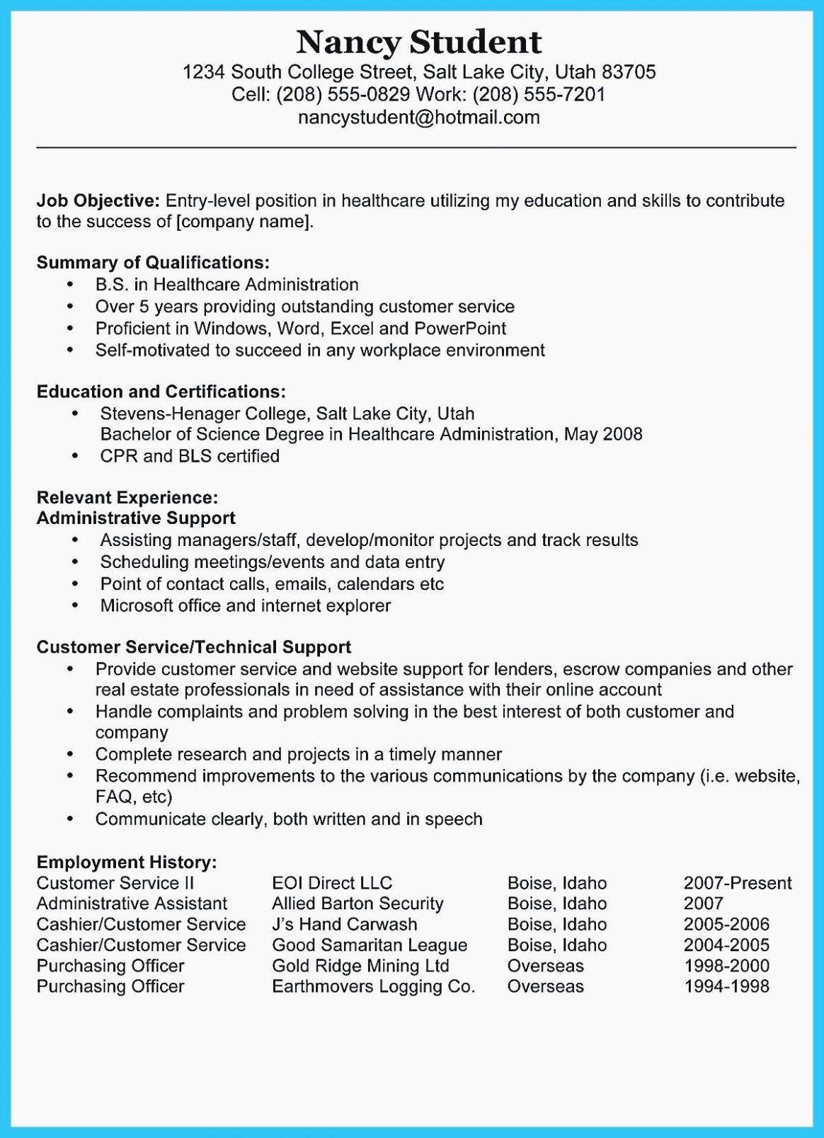 Entry Level Healthcare Administration Resume Elegant The Shocking Revelation Teacher Resume Examples Medical Assistant Resume Resume Skills