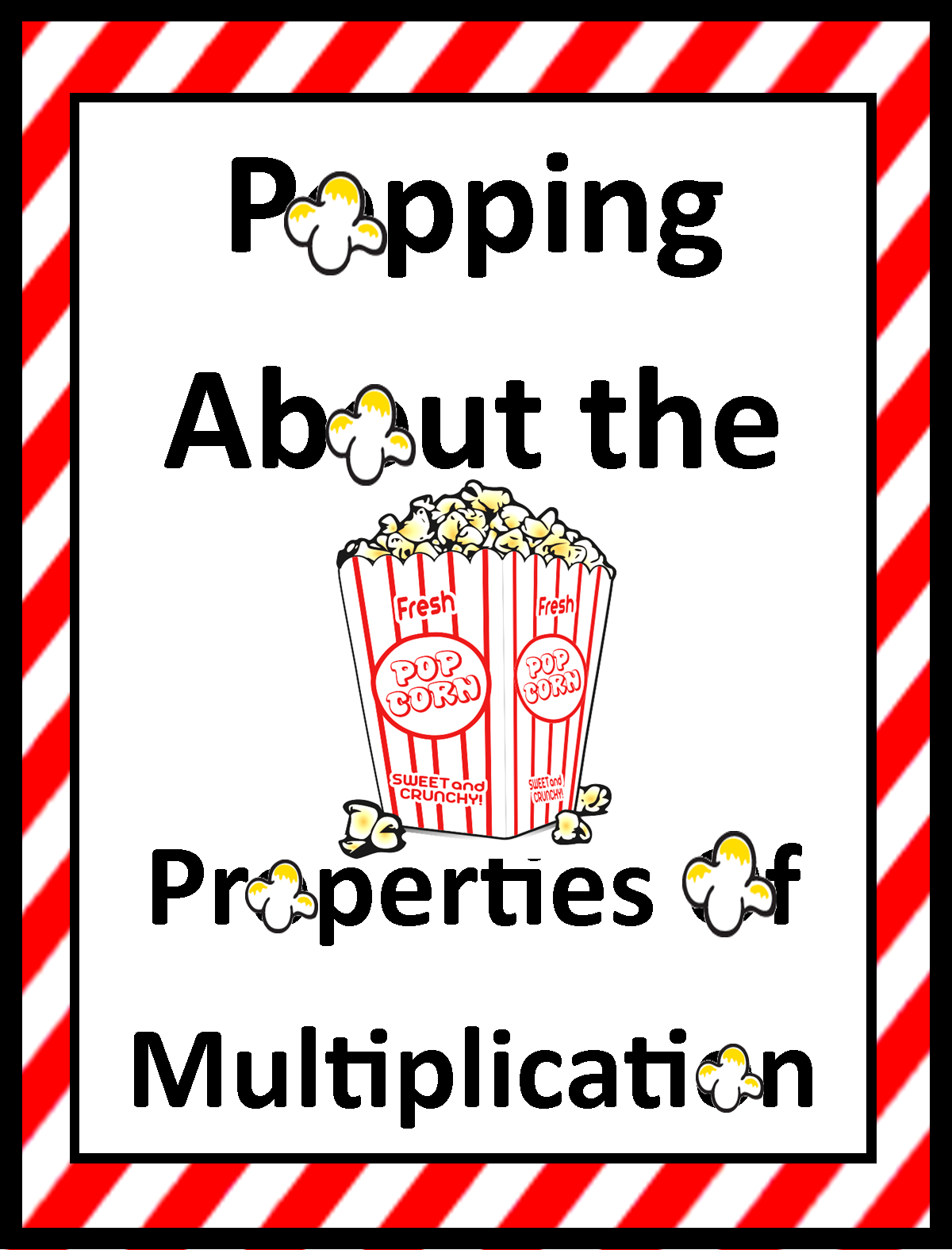 Properties of Multiplication Distributive – Properties of Multiplication Worksheet