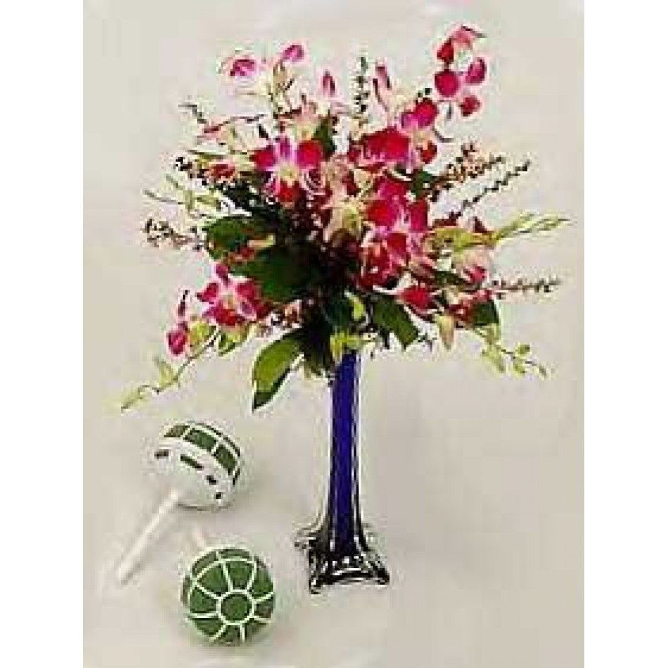 Grande Centerpiece Vase Foam Bouquet Holders Case Of Floral Wholesale Wedding Supplies Discount Favors Party