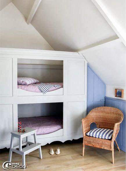 mommo design: BUNKS FOR GIRLS | Mommo design, Kids room ...