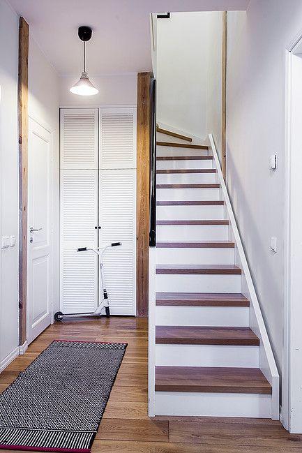 custom-made by KROMO DISAIN OÜ // scandinavian design // minimal interior // white stairs
