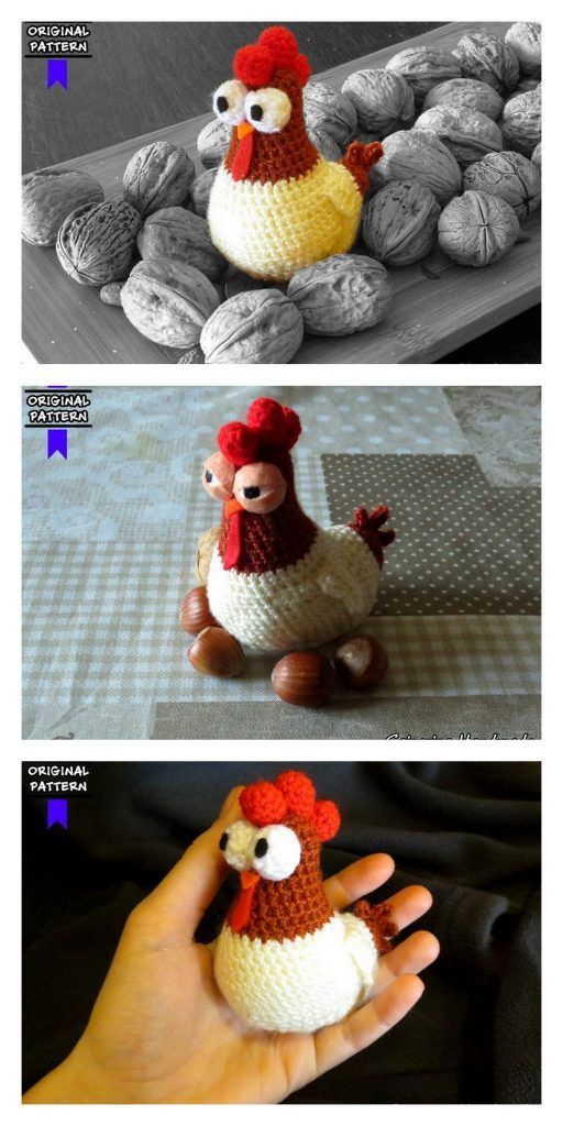 Amigurumi Chicken Free Pattern – Free Amigurumi Patterns