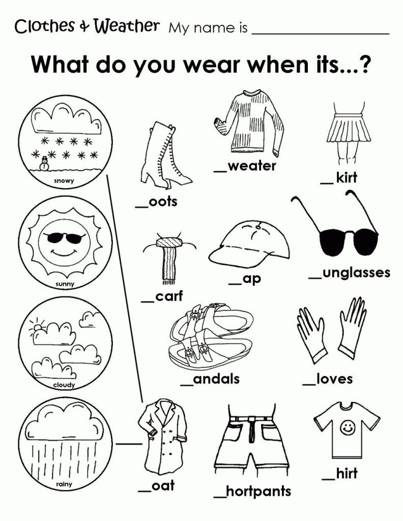 Coloring Rocks English Activities For Kids English Worksheets For Kids Weather Worksheets