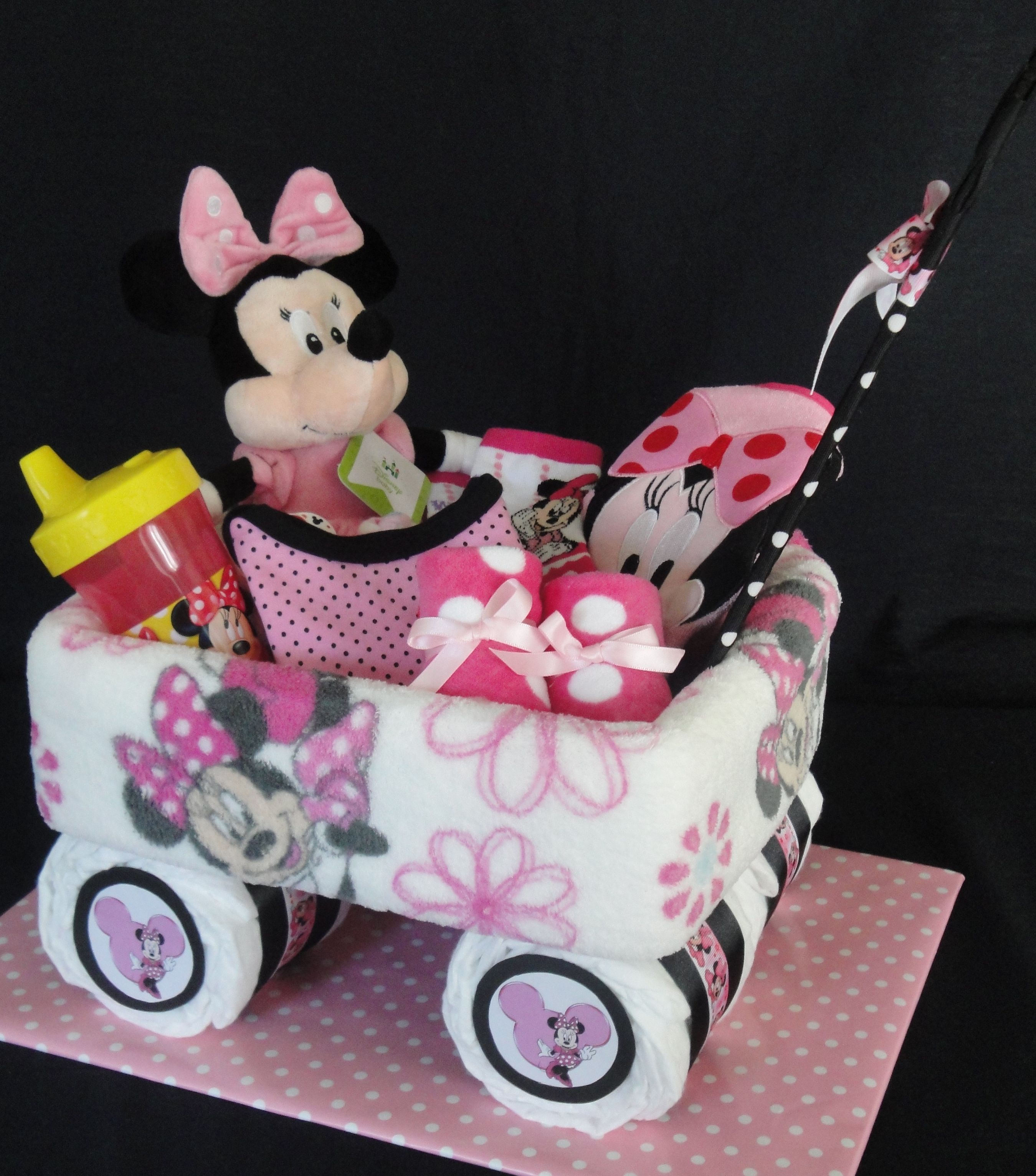 Small Minnie Mouse Themed Wagon Www Facebook Com