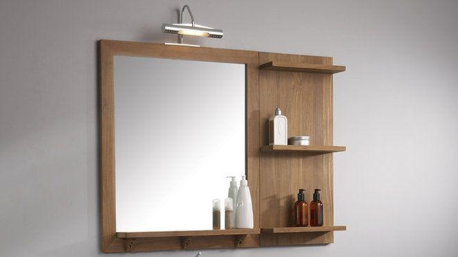 miroir salle de bain avec tablette | Mes pints | Pinterest | Toilet ...
