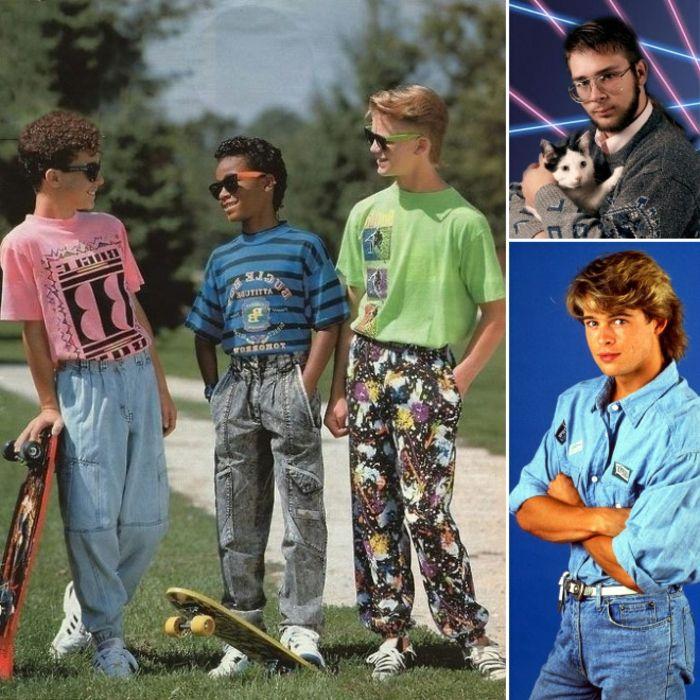 Typisch 80er Mode