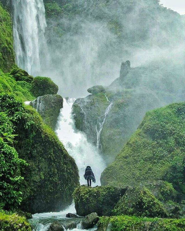 Location Citambur Waterfall Cianjur West Java Indonesia Jakarta Indonesia Travel I