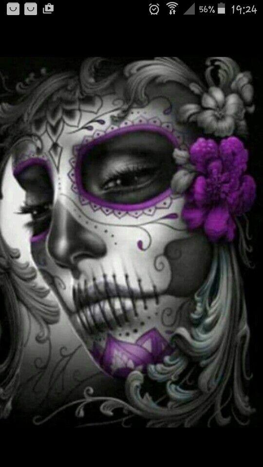 Beauty /& Skull Full Drill 5D Diamond Embroidery Painting Cross Stitch Kit Decor