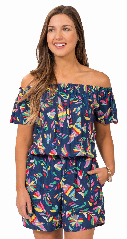 Maya Romper Escapada Living Resort Dresses Clothes Womens Clothing Stores [ 1500 x 800 Pixel ]