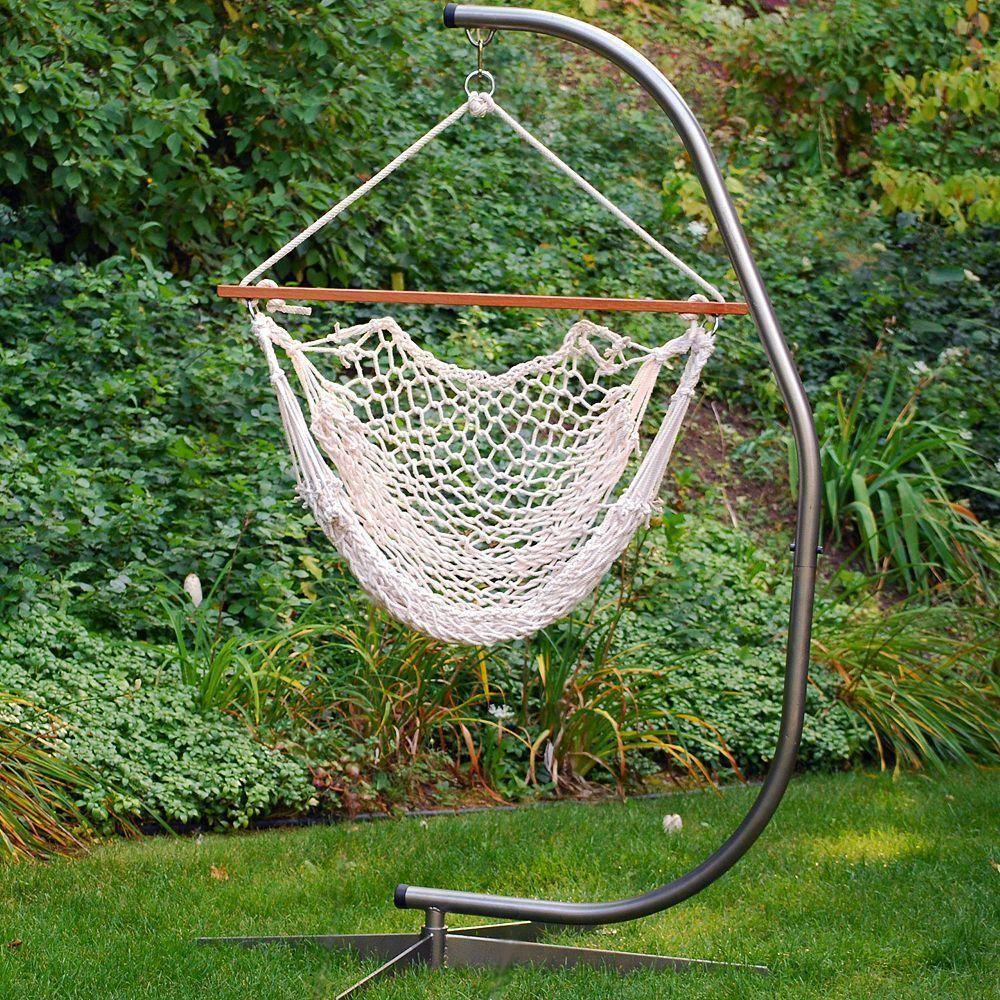 The Garden Hammocks® Classic Cotton Rope Swing