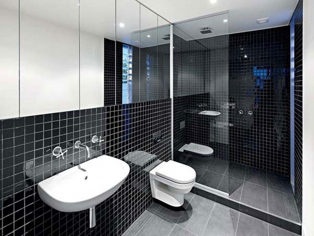 Black And White Bathroom Tile Design Ideas Decor Ideasd Modern