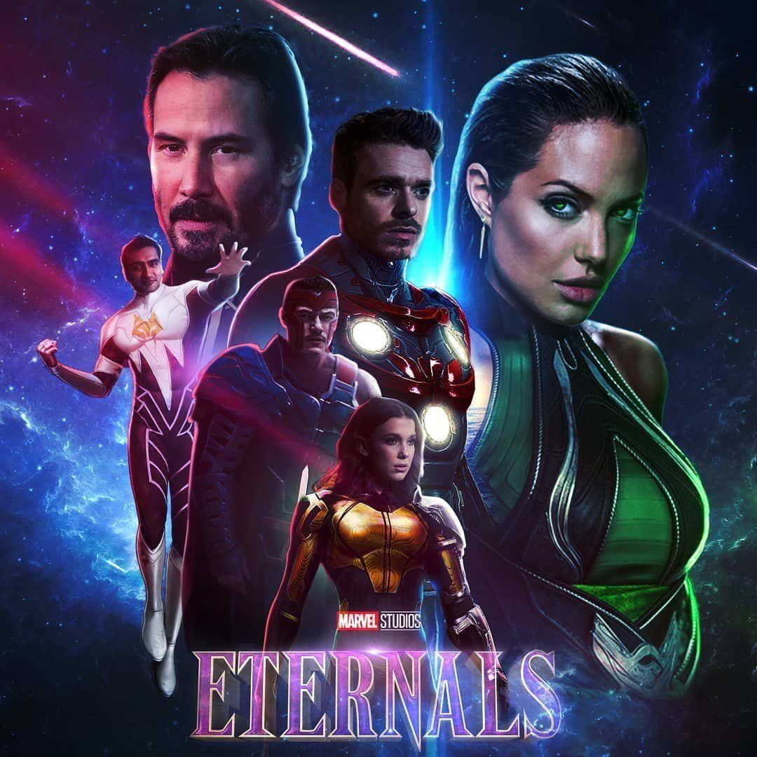 Watch Eternals Bluray Movie Online In 2021 Fan Poster Upcoming Movies Scary Movies