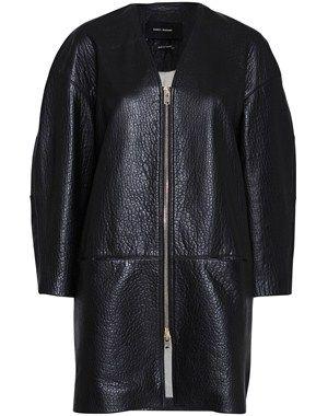 Cajou læder frakke