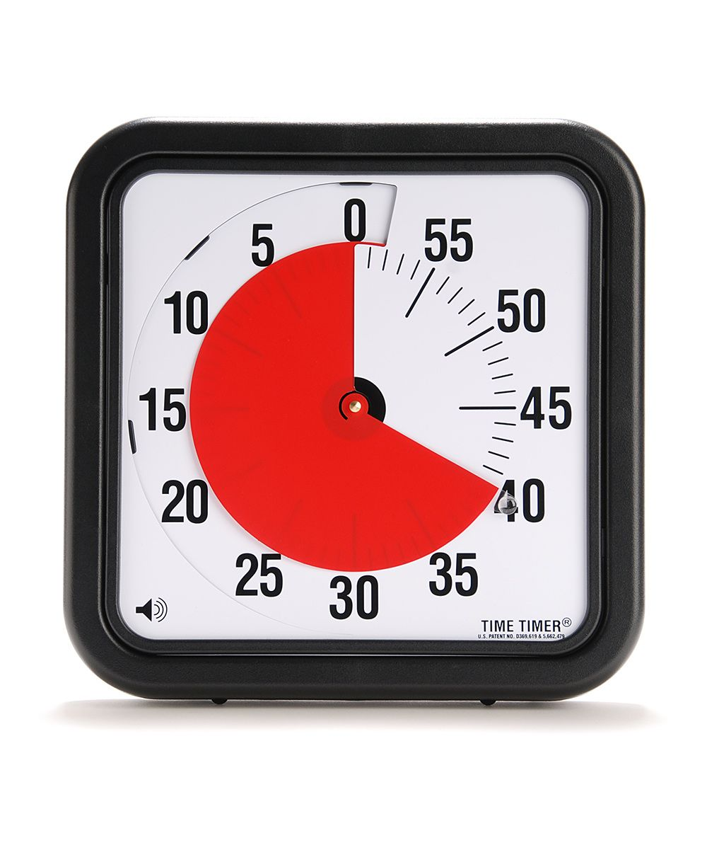 Time Timer - Helps with students' time management skills!