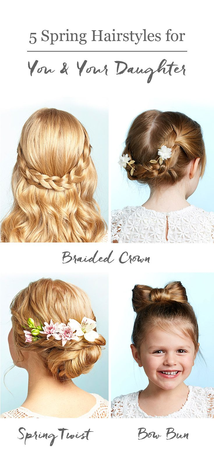 These 5 easy spring hairstyles can be for you or your little girl ...