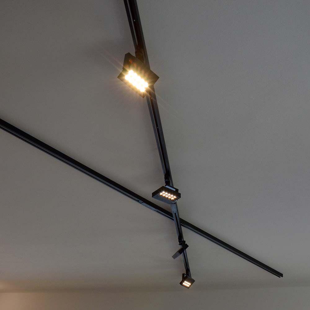 3 Phasen Stromschiene 2m Schwarz 52615 Stromschiene Burobeleuchtung Beleuchtung