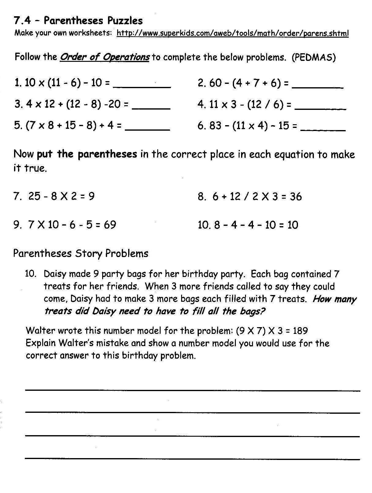 7th Grade Math Enrichment Worksheets Concord Grade 3 Math