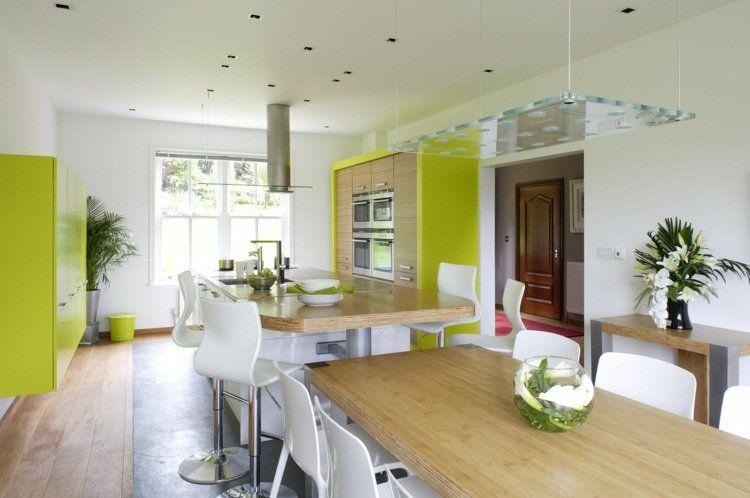 Aménager une cuisine ouverte sur salle à manger | Cuisine ouverte ...