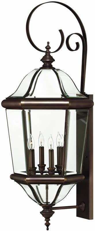 0 034014 39 H Augusta 4 Light Extra Large Outdoor Wall Lantern