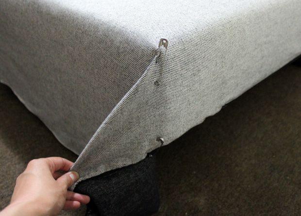 Pizca diy funda para sof cama fundas pinterest - Como hacer una funda para sofa ...