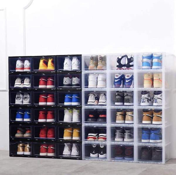 Sole Survivor Sneaker Organization System Sos Solesurvivorus Sneaker Organization Shoe Box Storage Shoe Storage