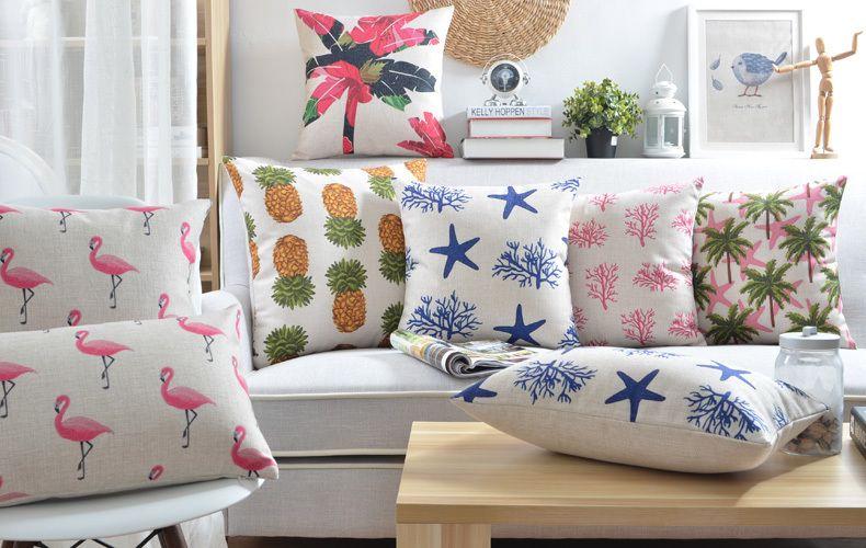 pas cher moderne art aquarelle oiseau 18 x 18 coussin d coratif oreiller oreiller coussins de. Black Bedroom Furniture Sets. Home Design Ideas