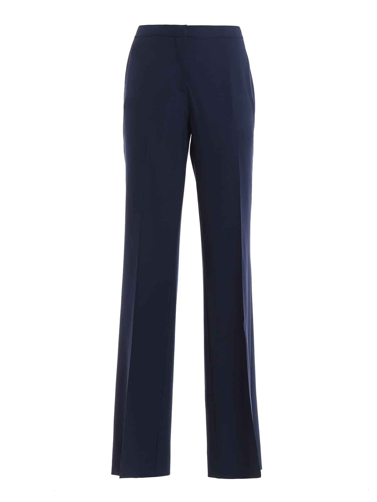 wide-leg tailored trousers - Blue Diane Von F Cheap Price Outlet Sale Free Shipping 100% Original Orange 100% Original Discount Clearance Fake DpOUtPILB