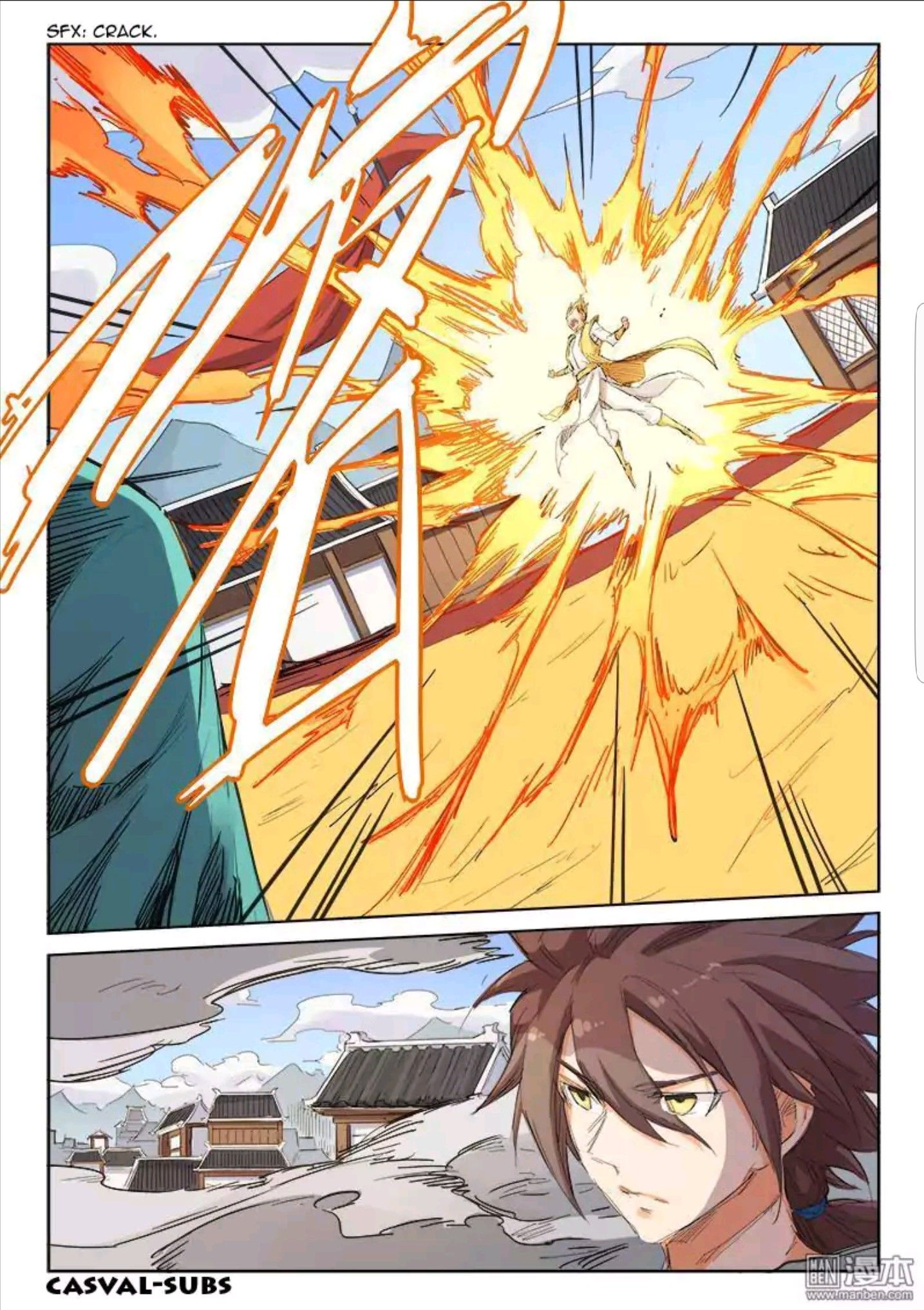 Chinese Manhua Star Martial God Technique. chapter 100