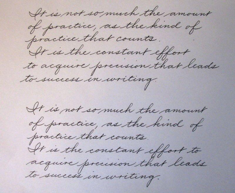 Printable Worksheets palmer handwriting worksheets : Pin by Javier Alvarez on Spencerian & Palmer Script   Pinterest ...