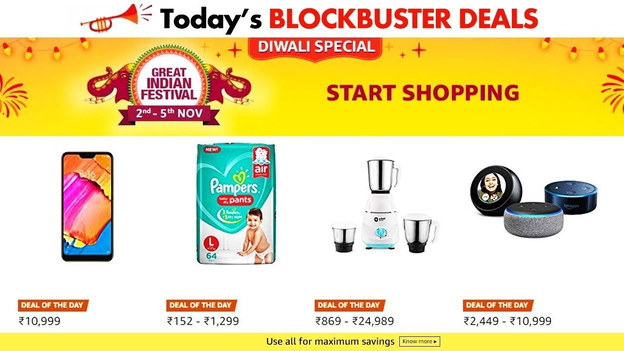 D Deals Live Diwali Blockbuster Deals Today S 3rd Nov All Deals