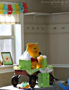 Winnie The Pooh Party Decorations Baby Shower Baby Shower Ideas