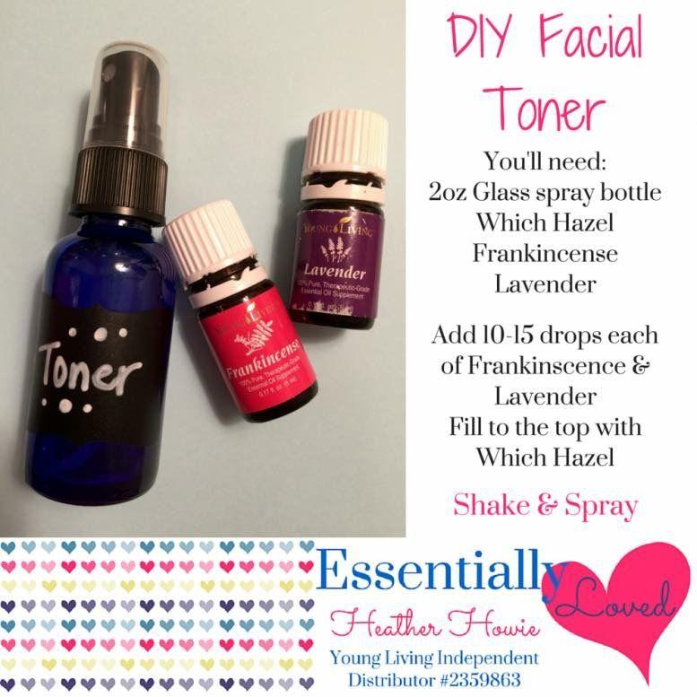 Facial Toner Diy facial toner, Diy essential oils