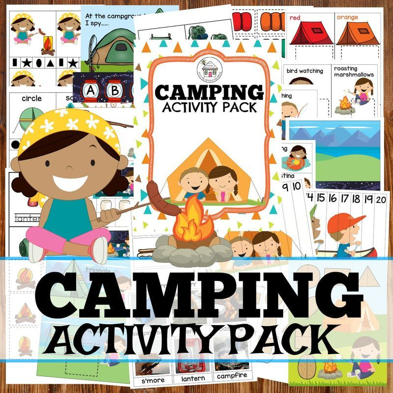 Day & Night Camping Theme   Preschool camping activities ...
