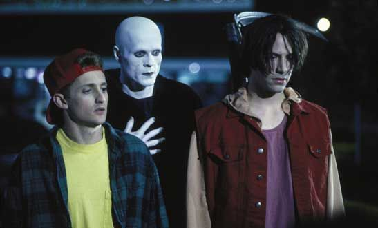 """Bill & Ted's Bogus Journey  (Was going to be named """"Bill & Ted Go To Hell"""")"""