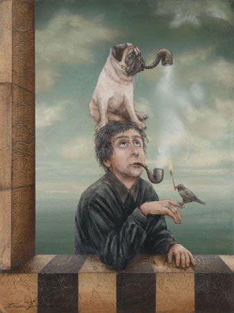 tyson grumm paintings - Google Search Pugs