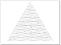 Free Printable Ternary Diagram Paper  Triangular Graph Paper