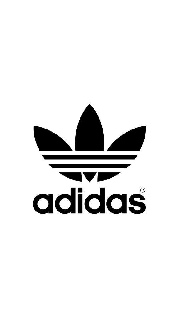 adidas logo blackwhite adidas pinterest adidas logo