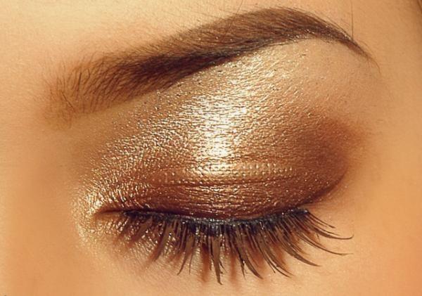 Golden #makeup