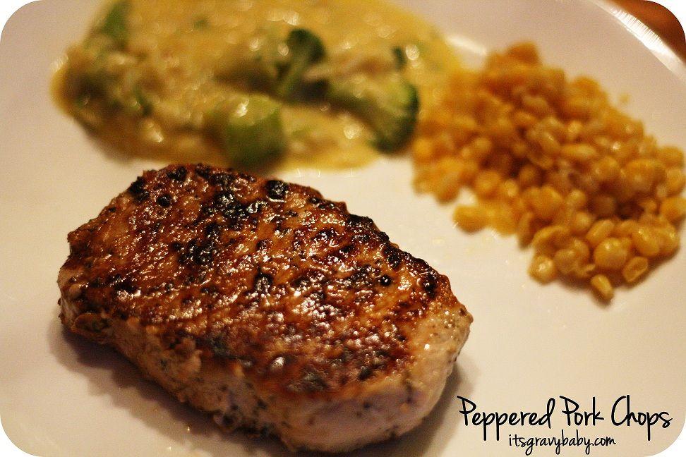 Peppered Pork Chops Recipe Publix4pork Allaboutpork It S Gravy