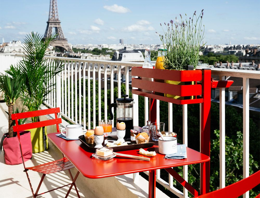 Balkonmöbel - 3 Looks für kleine Balkone by Design Bestseller - balkonmobel fur kleinen balkon ideen