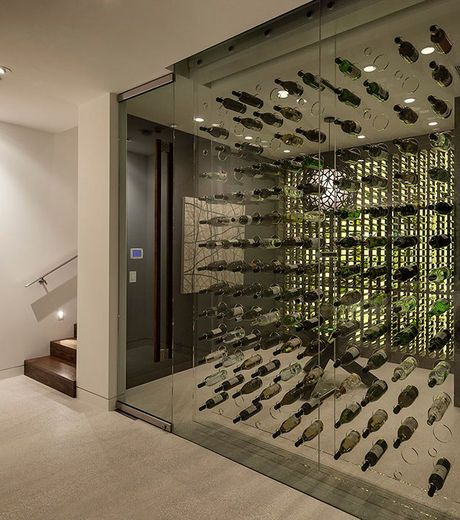 Cava moderna en casa buscar con google cavas - Cavas de vinos para casa ...