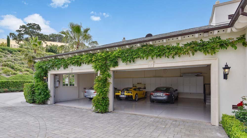Photo Gallery Of 10 Serenity Lane In Alamo California Robb Report Luxury Garage Model House Plan Design