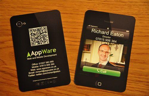 Business Card For An App Developer Brilliant Branding